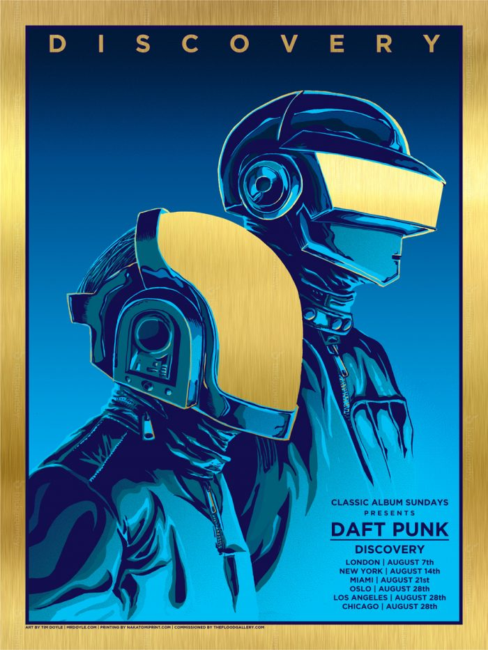 daft punk gold