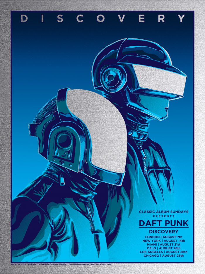 daft punk silver